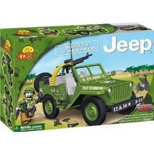 COBI Blocks Small Army #24112 Willys MB with Machine Gun ブロック おもちゃ