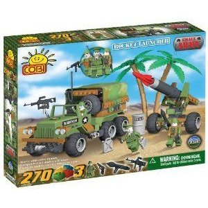 COBI Small Army Rocket Launcher, 270 Piece Set ブロック おもちゃ