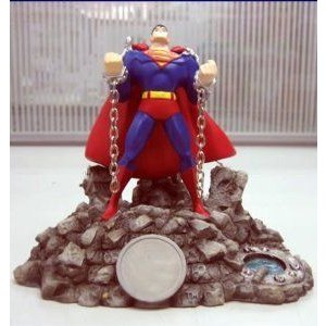 Comic Con 2006 Boxed Paperweight Justice League Unlimited Superman (スーパーマン) フィギュア おも