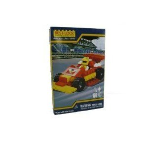 Construction Race Car and Driver - 80 pieces ブロック おもちゃ