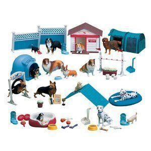 Constructive Playthings Dog Academy Playset フィギュア ダイキャスト 人形