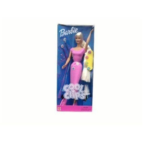 Cool Clips Barbie(バービー) ドール 人形 フィギュア