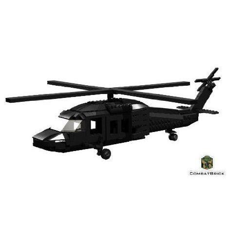 Custom Army Builder Military Modle Building Set - Sikorsky 黒Hawk UH-60 ヘリコプター ブロック
