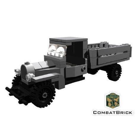 Custom Army Builder Model Kit - WWII Ford / Gaz AA Truck ブロック おもちゃ