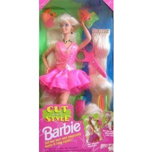 Cut and Style Barbie(バービー) Doll w Attachable Hair (1994) ドール 人形 フィギュア