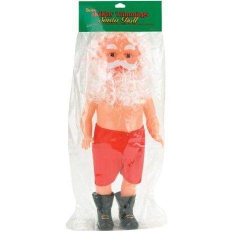 Darice 13 Inch Plastic Santa Doll - Santa Claus ドール 人形 フィギュア