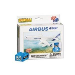 Daron Airbus A380 Construction Toy (55-Piece) ブロック おもちゃ