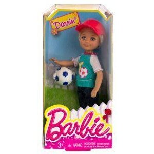 Darrin w/ Soccer Ball: Barbie(バービー) Chelsea & Friends Summer Dreamhouse Collection ~5.5 Doll F