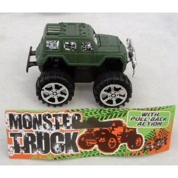 Ddi Monster Pull-Back Truck (Pack Of 60)