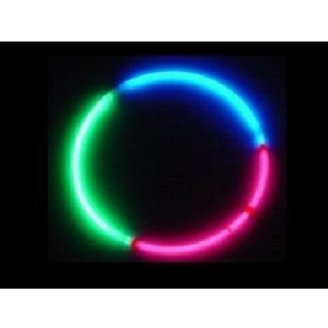 Ddi Tri Colo赤 22' Glo Necklaces (Pack Of 100)