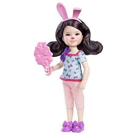 Delia: Barbie(バービー) Chelsea & Friends Amusement Park Collection ~5.5 Doll Figure ドール 人形