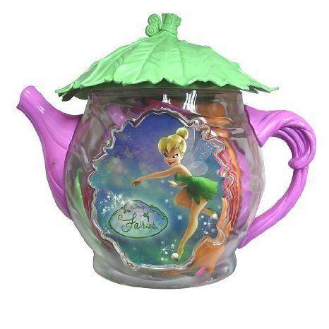 Disney (ディズニー) Fairies Tea Kettle Set Tinker Bell