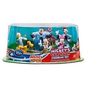 Disney (ディズニー) MICKEY'S CAR WASH MICKEY MOUSE 6 piece Exclusive フィギュア set