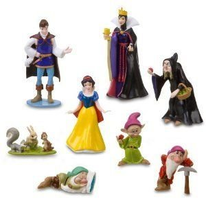 Disney (ディズニー) Snow 白い (白雪姫) and The Seven Dwarfs フィギュア Set - 8 PCS.(201585)