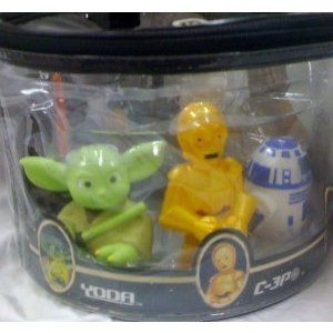 Disney (ディズニー) Star Wars, Chewbacca, Clone Trooper, Boba Fett, Darth Vader, Yoda, C-3p, R2-d2