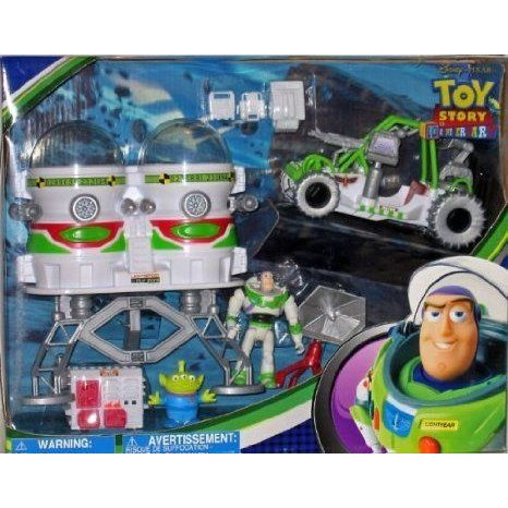 Disney (ディズニー) Toy Story Buzz Space Action Set 10th Anniversary