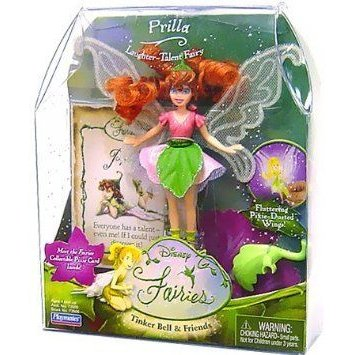 Disney (ディズニー)Fairies Prilla Tinker Bells' Friend ドール 人形 フィギュア