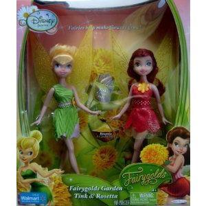 Disney (ディズニー)Fairyゴールドs Garden Tink & Rosetta Exclusive ドール 人形 フィギュア