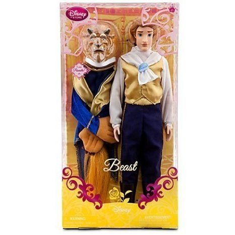 Disney (ディズニー)Posable Beauty and the Beast the Beast Doll -- 12'' ドール 人形 フィギュア