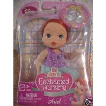 Disney (ディズニー)Princess Baby Ariel Ballet Enchanted Nursery Doll ドール 人形 フィギュア