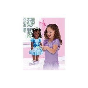 Disney (ディズニー)Princess Tiana 20 Electronic Talking and Light-up Doll, 青 ドール 人形 フィギ