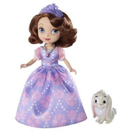 Disney (ディズニー)Sofia The First Sofia Doll and Clover The Rabbit ドール 人形 フィギュア