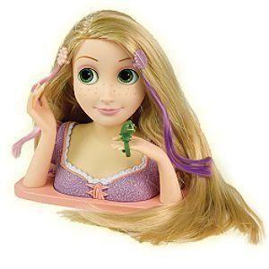 Disney (ディズニー)Tangled Rapunzel Styling Head ドール 人形 フィギュア