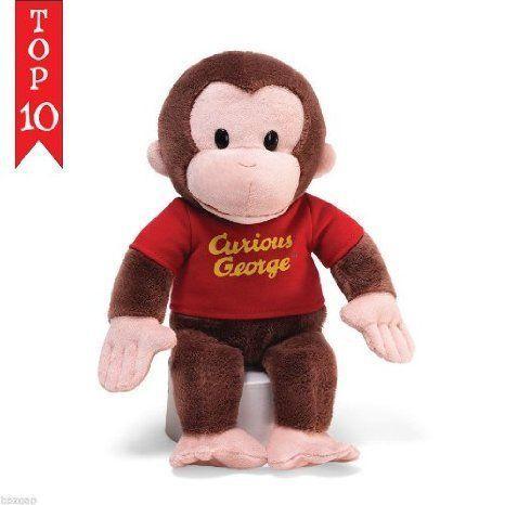 Disney (ディズニー)WDCC Curious George 12 赤 Shirt ドール 人形 フィギュア