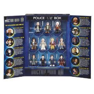 Doctor Who (ドクター・フー) 50th Anniversary 限定品 11 Doctors Micro-Figures Character Set ブロッ