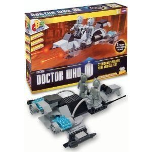 Doctor Who (ドクター・フー) Character Building - Cyberman Speeder Mini Vehcle Set & 2 Cyberman フ