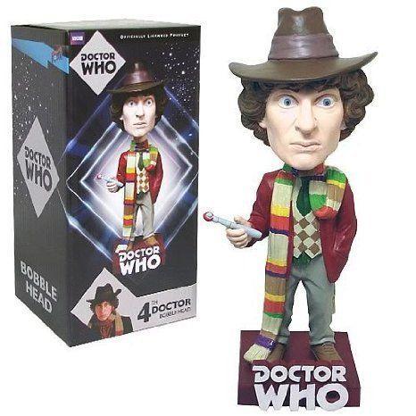 Doctor Who (ドクター・フー) Fourth Doctor Bobble Head フィギュア おもちゃ 人形