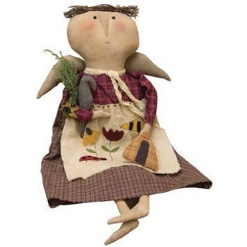 Doll Lady Bee Country Rustic Primitive ドール 人形 フィギュア