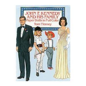 Dollhouse (ドールハウス) JOHN F. KENNEDY PAPER DOLLS ドール 人形 フィギュア
