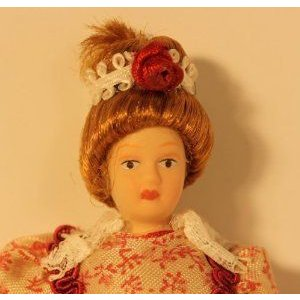 Dollhouse (ドールハウス) Miniature Fancy Lady Doll ドール 人形 フィギュア
