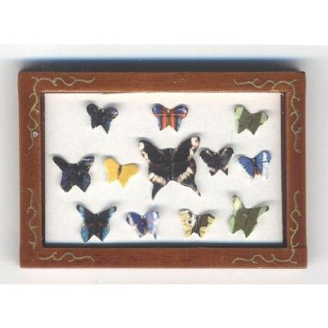 Dollhouse (ドールハウス) Miniature Framed Butterfly Collection ドール 人形 フィギュア