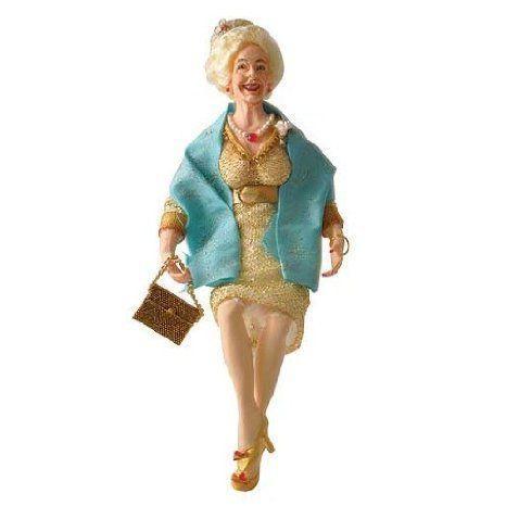 Dollhouse (ドールハウス) Miniature Marilyn Doll Seated ドール 人形 フィギュア