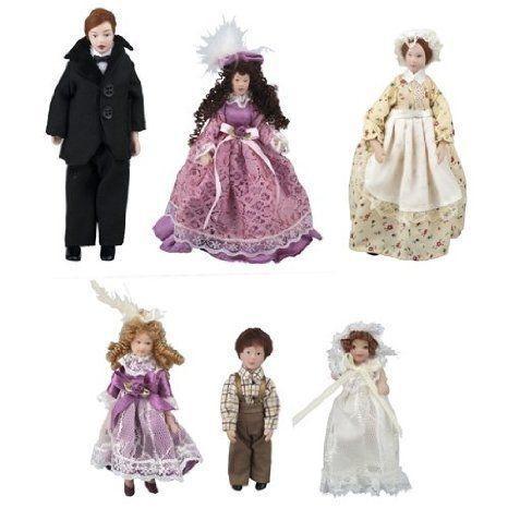 Dollhouse (ドールハウス) Miniature The Giddens Family with Maid ドール 人形 フィギュア