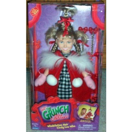 Dr. Seuss How the Grinch Stole Christmas Cindy Lou Who Doll ドール 人形 フィギュア