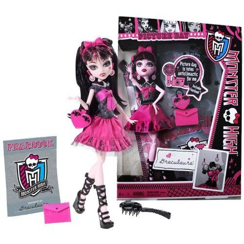 Draculaura ~10.5 Monster High モンスターハイ Picture Day Figure Playset フィギュア 人形 おもちゃ