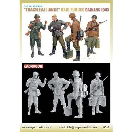 Dragon Models 6563 1/35 Fragile Alliance Axis Forces Balkan 1943