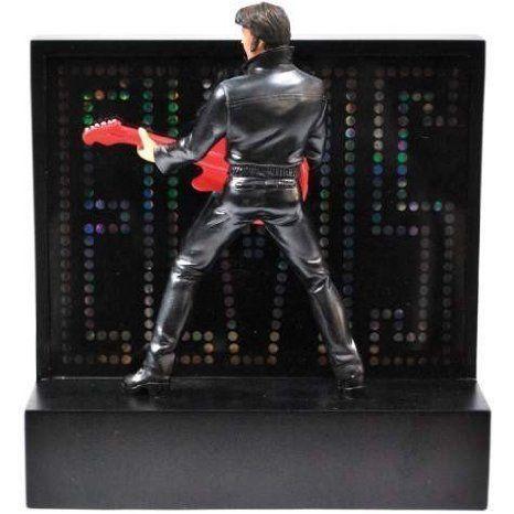 Elvis Presley (エルビスプレスリー) 赤 Guitar Lighted Statue フィギュア おもちゃ 人形
