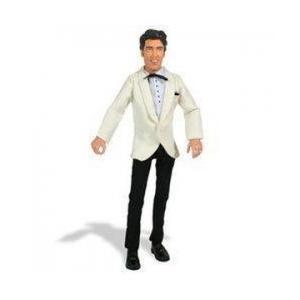 Elvis Presley Talking アクションフィギュア: Elvis Dressed in 白い Suit Coat and 黒 Pa 131002fn