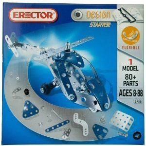 Erector (エレクター) Design Starter ヘリコプター 1 Model 2733 ブロック おもちゃ