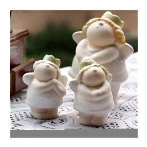European creative markor home decorations ornaments handicraft wedding gifts ceramic Angel doll sp