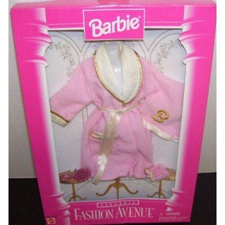 Fashion Avenue Lingerie ピンク Robe & Slipper Set for Barbie(バービー) Doll ドール 人形 フィギュア