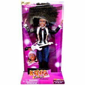 Fashion Kenya-Rock Star ドール 人形 フィギュア