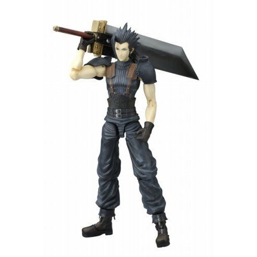 Final Fantasy ファイナルファンタジー VII Crisis Core Play Arts Zack Fair Action Figure フィギュア
