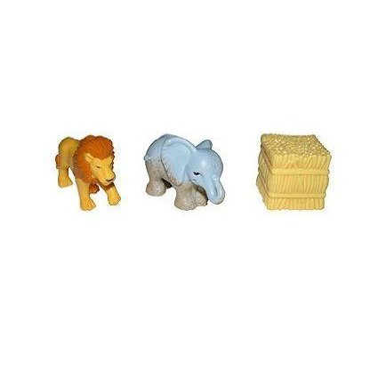 Fisher Price (フィッシャープライス) GeoTrax On The Go Zoo Animals