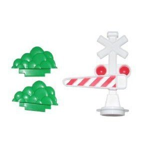 Fisher Price (フィッシャープライス) Little People Pop 'n Surprise Train Gate and Bushes フィギュア