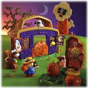 Fisher Price (フィッシャープライス) Little People Pumpkin Party Playset